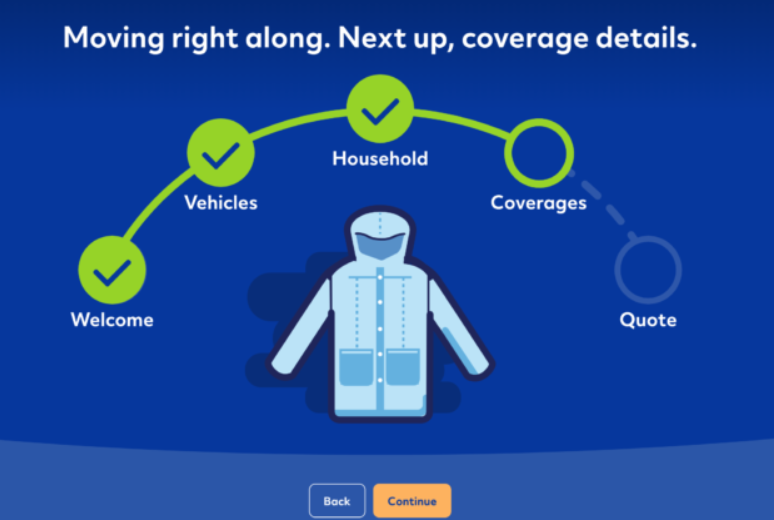 Allstate Get A Quote - Household information
