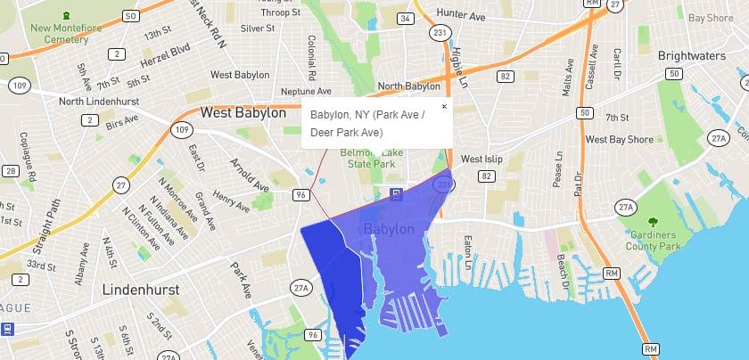 Babylon, New York - Safest Neighborhood