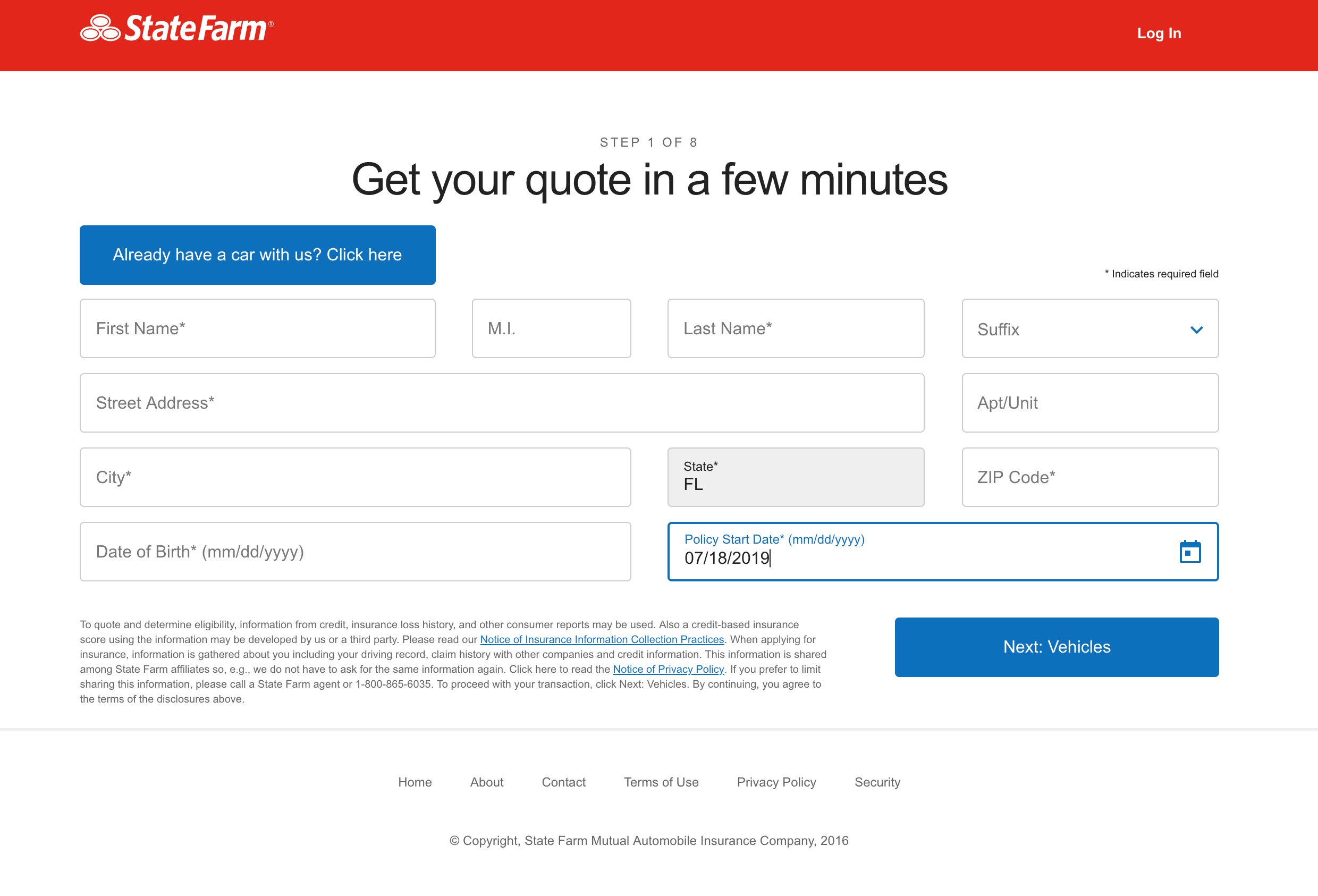 State Farm Quote How-To https://www.statefarm.com/