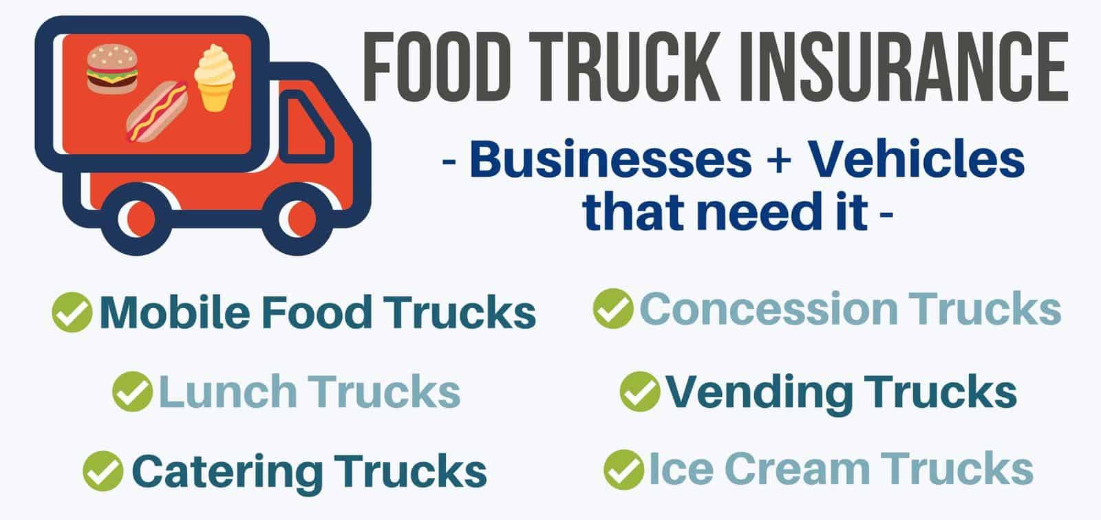 business that need food truck insurance