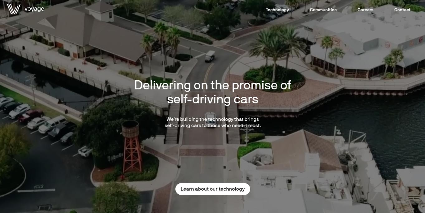 Voyage Auto Home Page